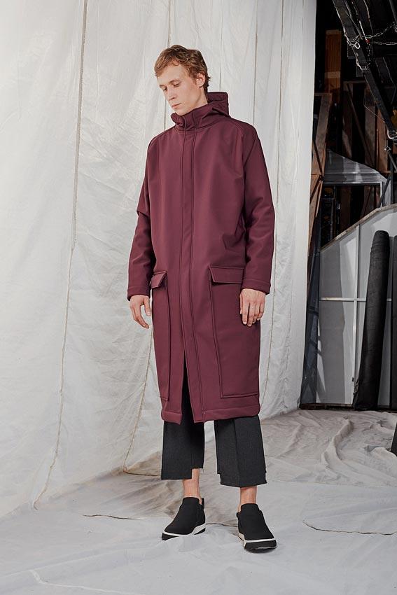 """Long urban men jacket """"Statement"""" 1"""