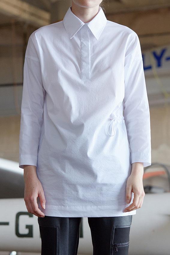 """Straight cut tunic shirt """"Air"""" 3"""