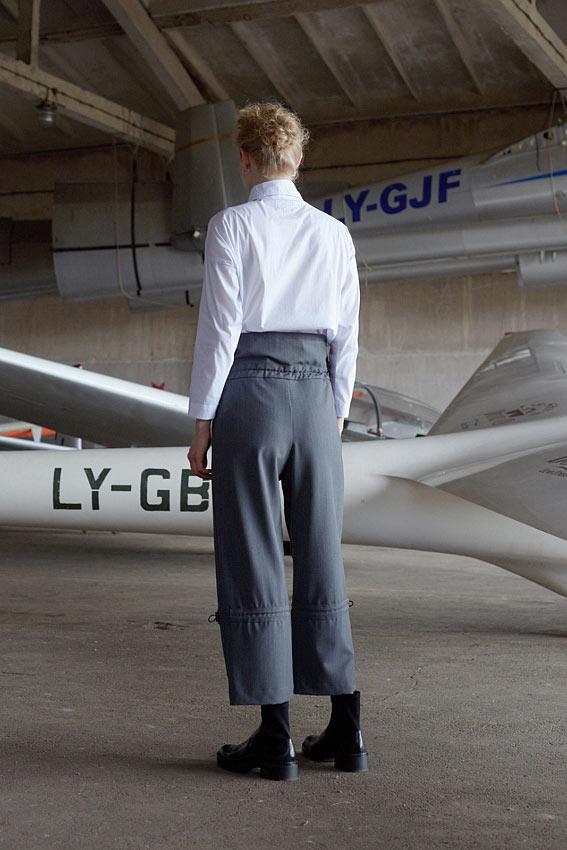 "High waist trousers "" Acrobatic"" 2"