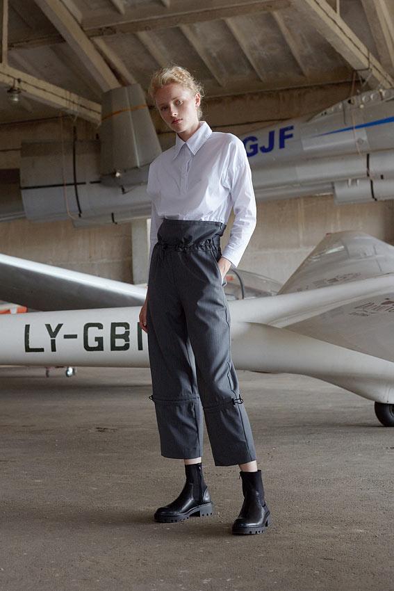 "High waist trousers "" Acrobatic"" 1"