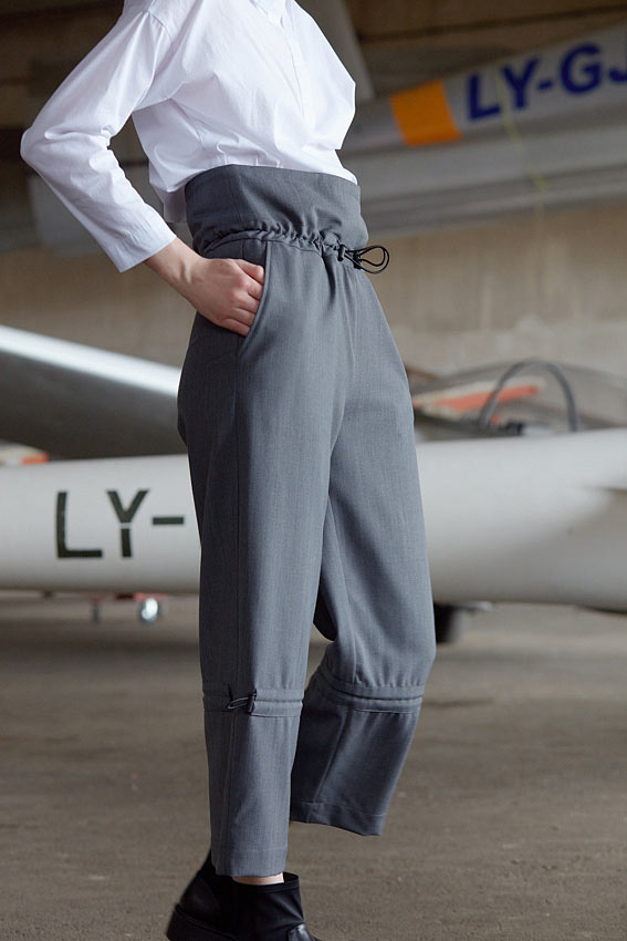 "High waist trousers "" Acrobatic"" 4"
