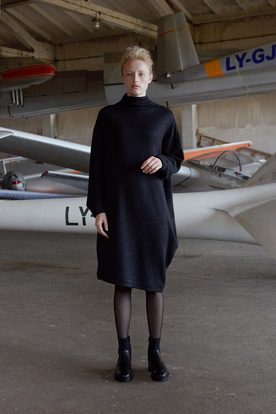 """Oversized knitted dress """"Wing"""" 1"""