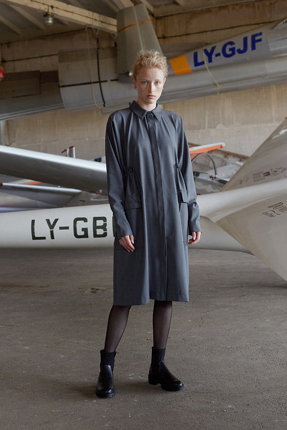 """One Size shirt dress """"Arrival"""" 3"""