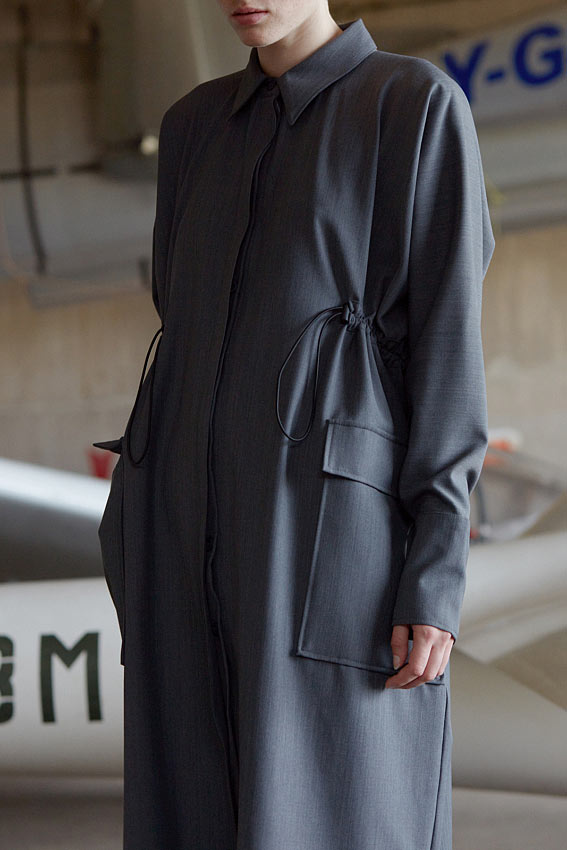 """One Size shirt dress """"Arrival"""" 4"""