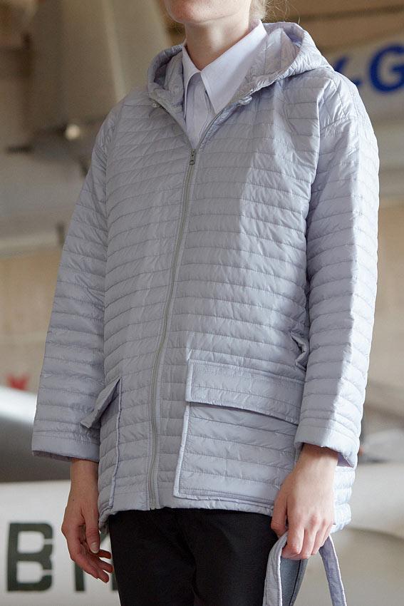 "Minimal padded coat ""Parachute"" 2"