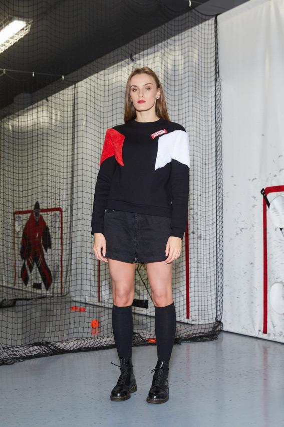 """""""OHMY x Hockey Punks"""" moteriškas džemperis 1"""