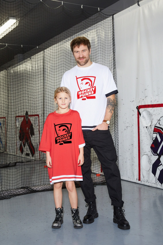 OHMY x Hockey Punks Red T-Shirt 2