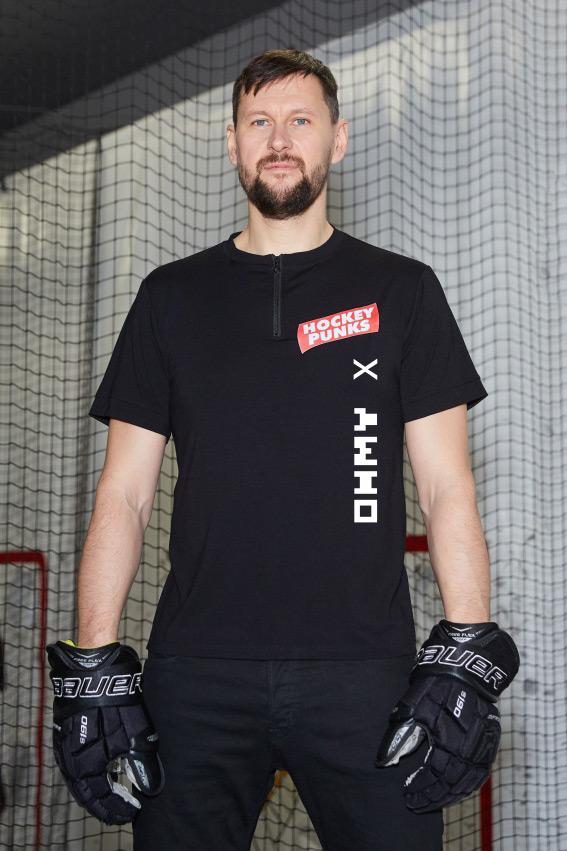 """""""OHMY x Hockey Punks"""" minimalistiniai marškinėliai 3"""