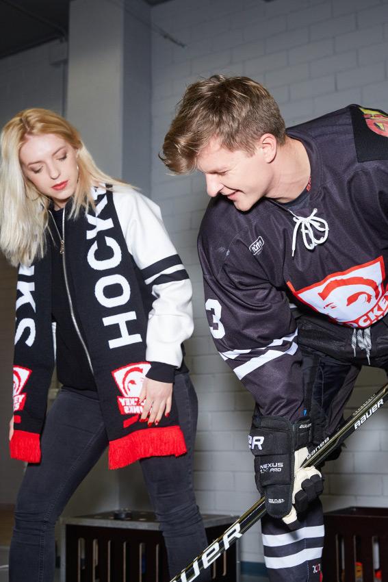 """""""Hockey Punks"""" šalikas 2"""