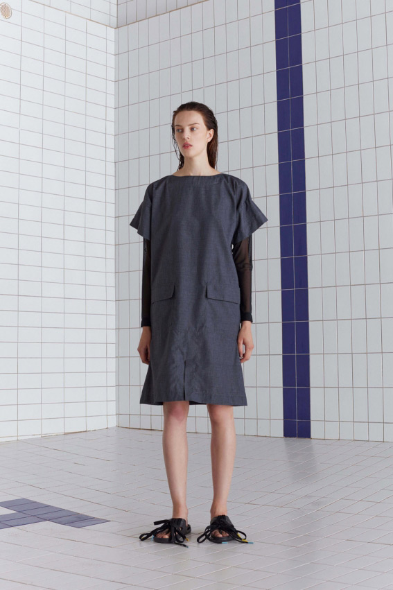 A shape minimal dress 1