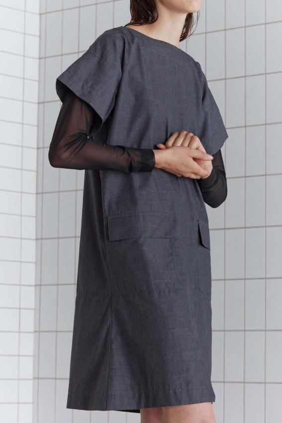 A shape minimal dress 3