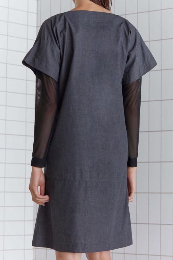 A shape minimal dress 4