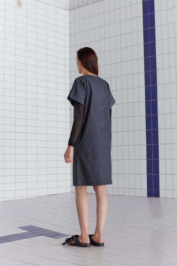 A shape minimal dress 5