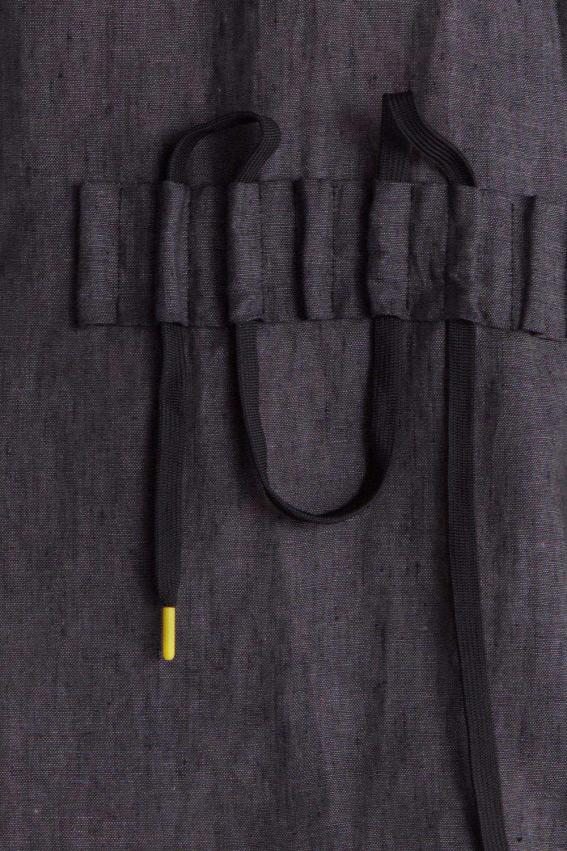 Minimal sporty linen dress 2