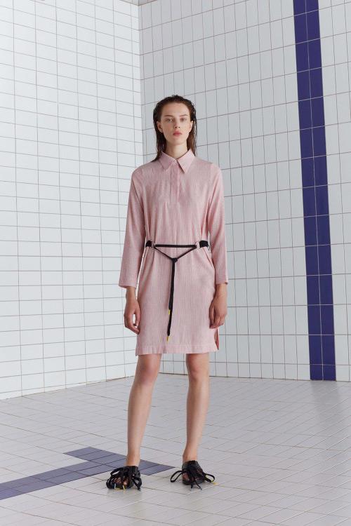 Marškinių tipo suknelė