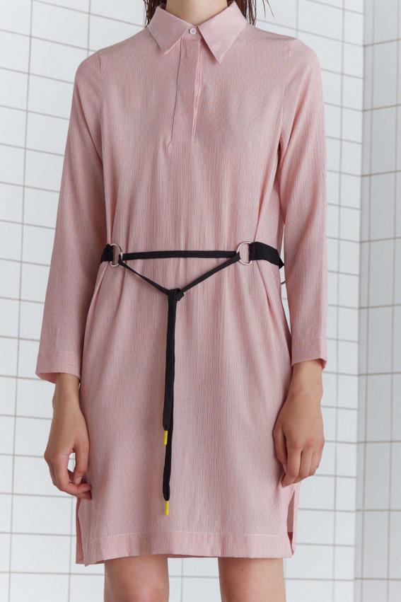 Minimal shirt dress 2