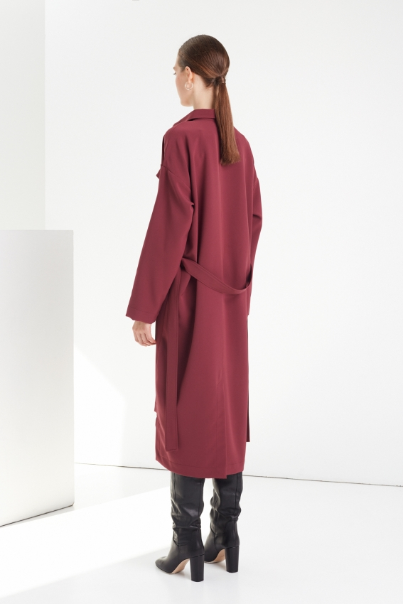 Oversized shirt dress SILENCE 3