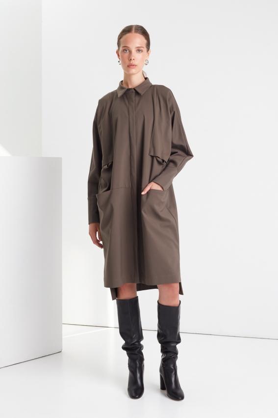 Loose shirt dress MUSE 1