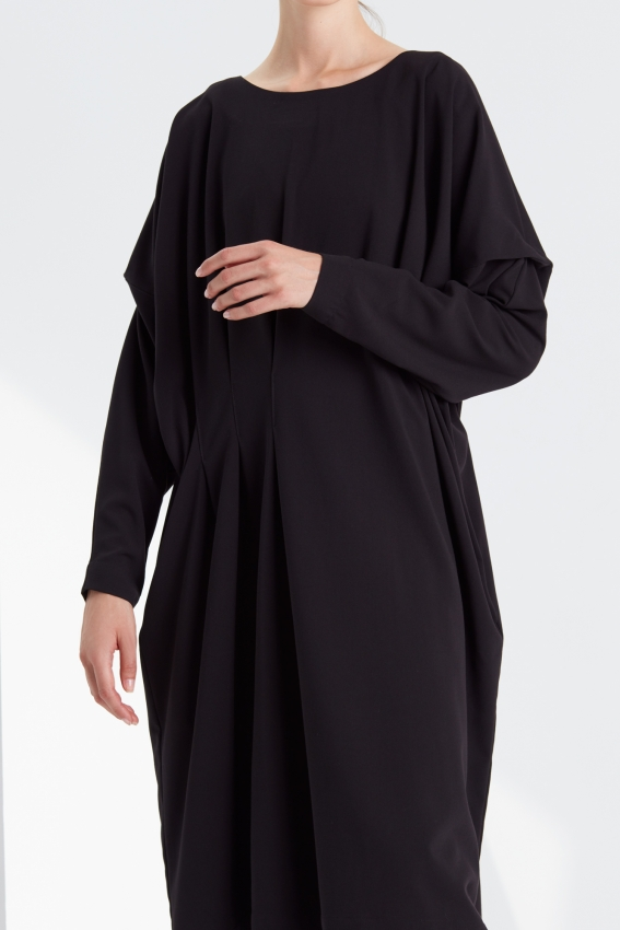 Oversized pleated dress DRAMA 2