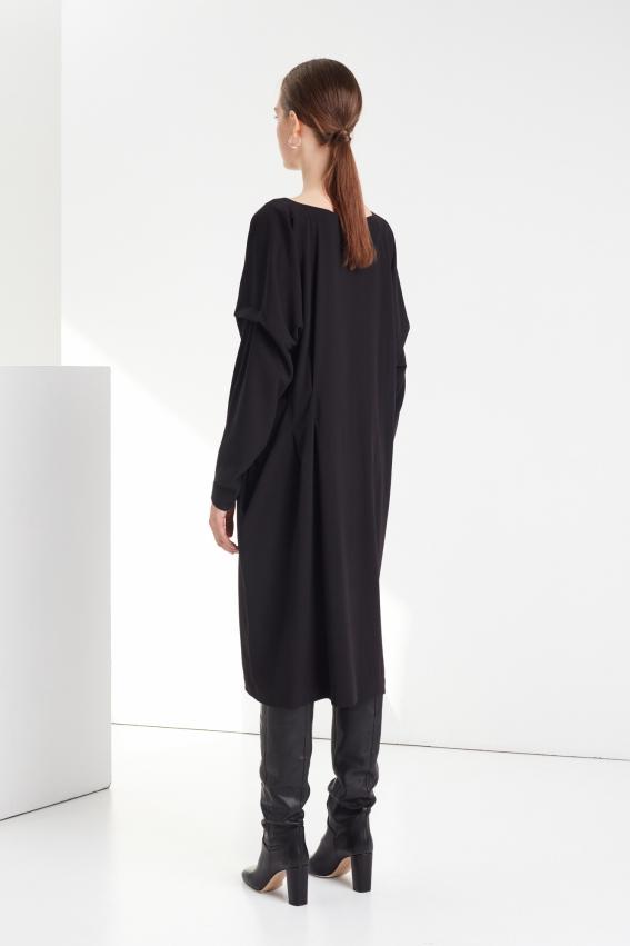 Oversized pleated dress DRAMA 3