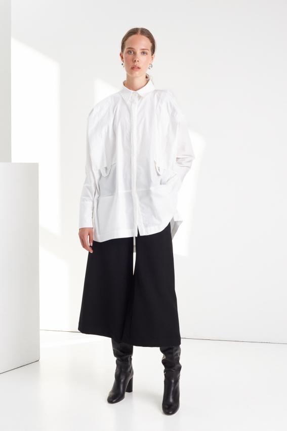 Oversize modern women shirt STOP 1