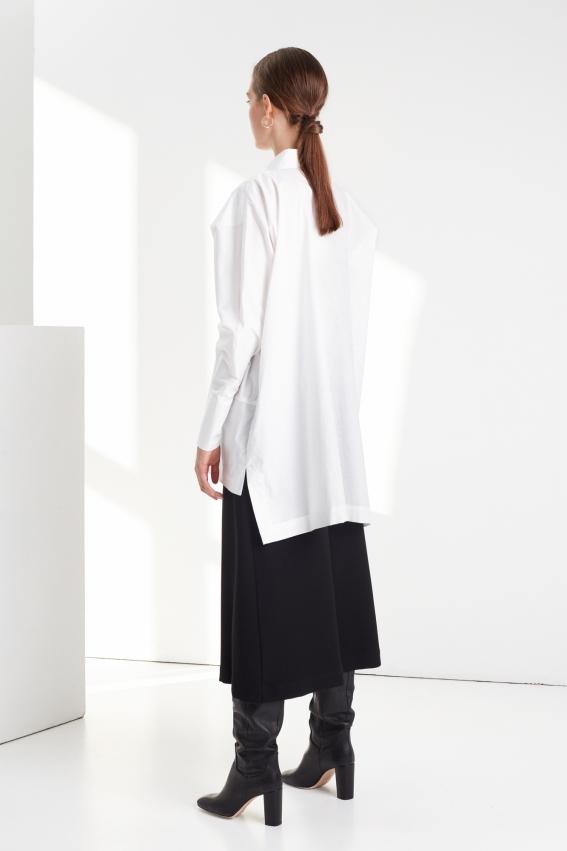 Oversize modern women shirt STOP 2