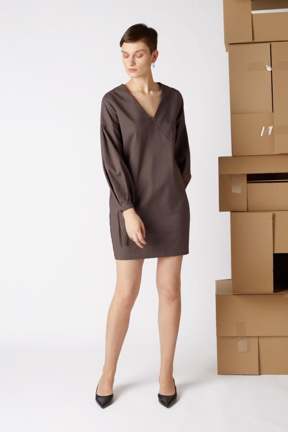 Minimal cotton dress BOX 1