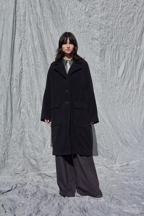 Moteriškas oversize tipo paltas SERENITY