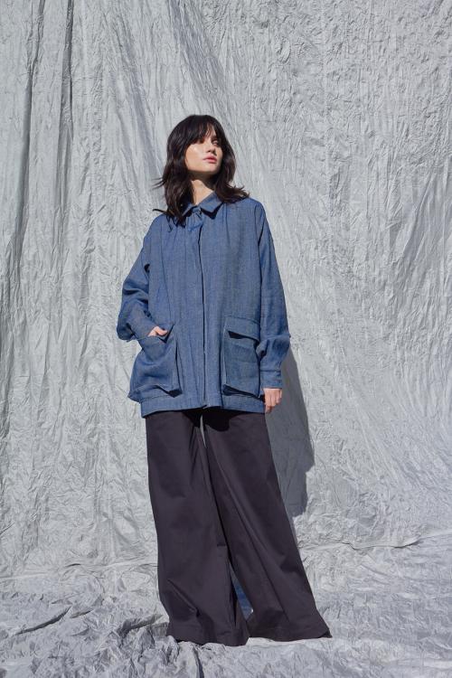 Marškinių tipo džinsinis švarkas TRIGGER